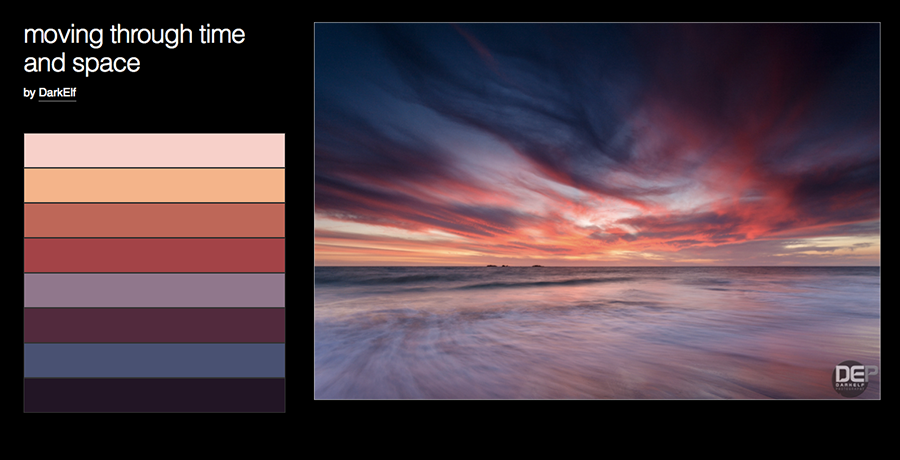 screenshot color feature