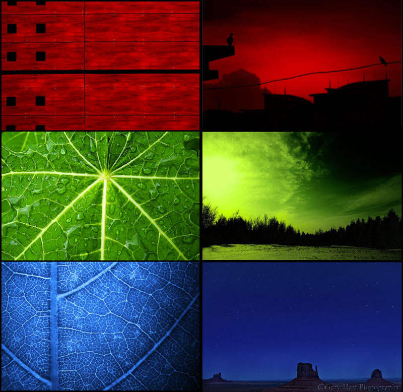 Red Green Blue photo gallery