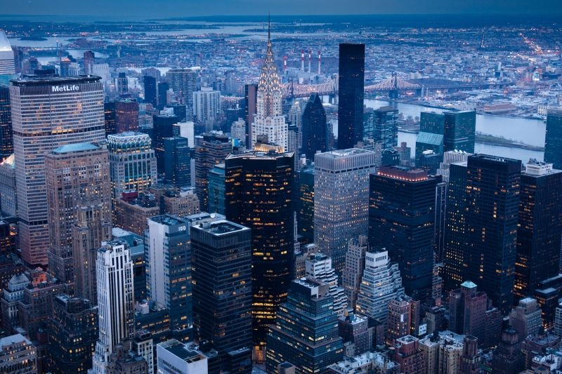 Cityscape in New York